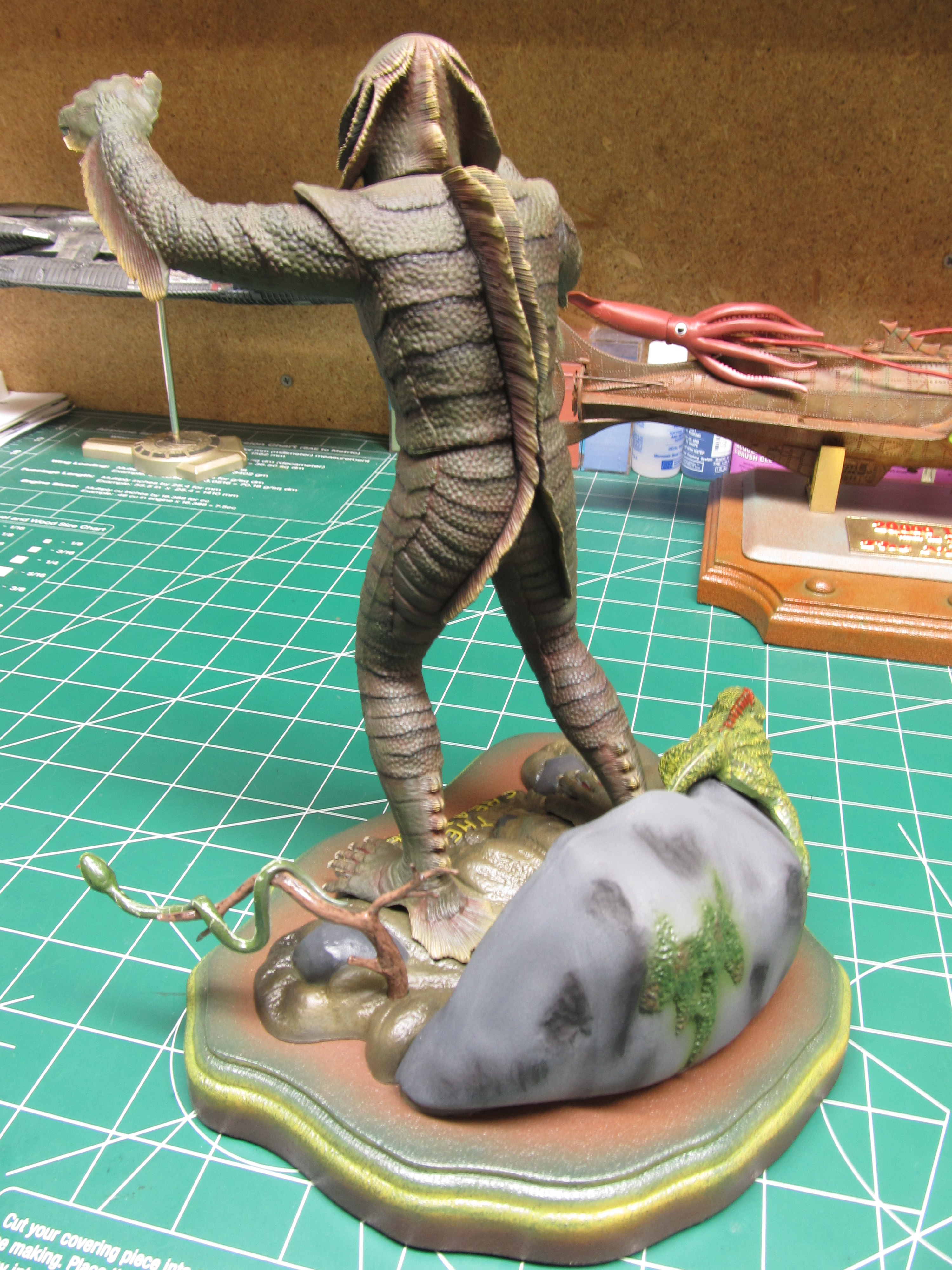 creature from the black lagoon model