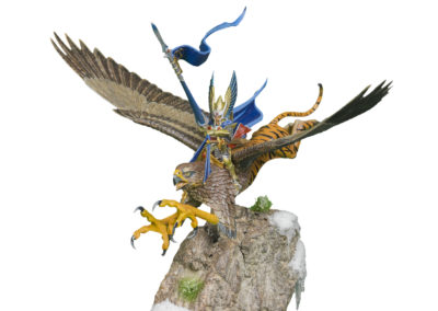 Warhammer High Elf Griffon with Custom Pedestal Base