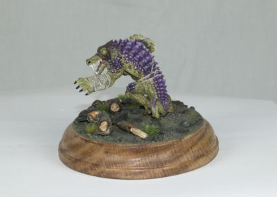 Hords Black Hide Wrastler Mini Diorama
